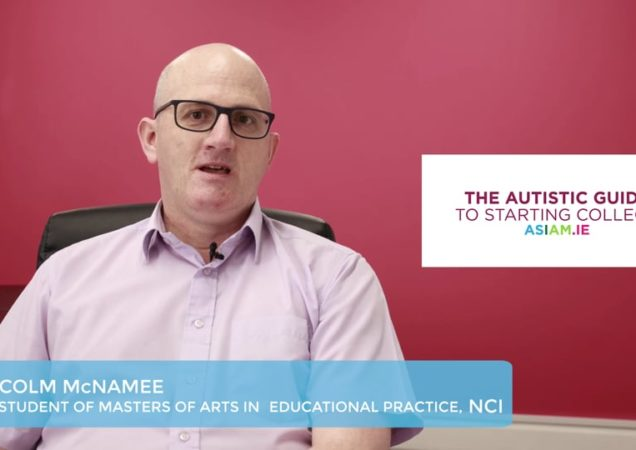 Colm McNamee 1- My education journey