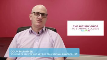 Colm McNamee 2- Returning to education